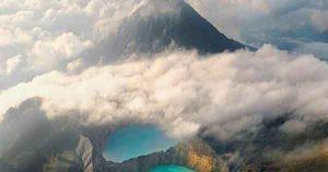 Wisata Liburan Danau Kelimutu Indonesia