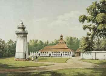 Masjid Agung Banten pada tahun 1880-an