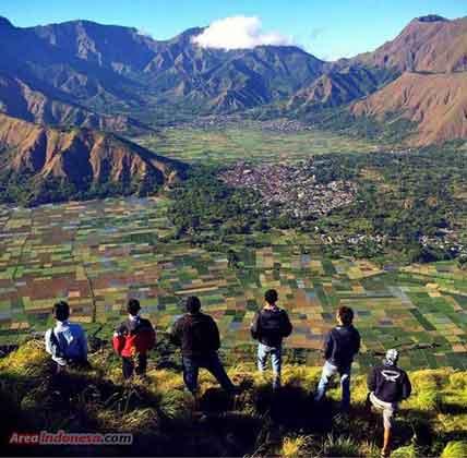 Desa Sembalun Lawang - gunung Rinjani